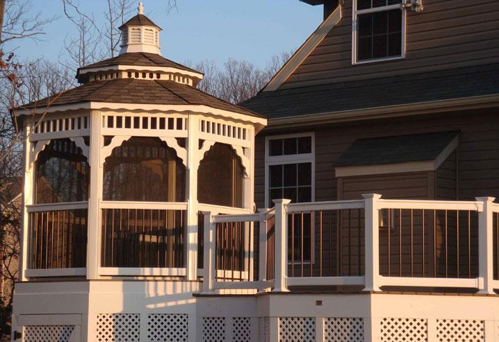 What Materials Can Be Used To Build a Gazebo?
