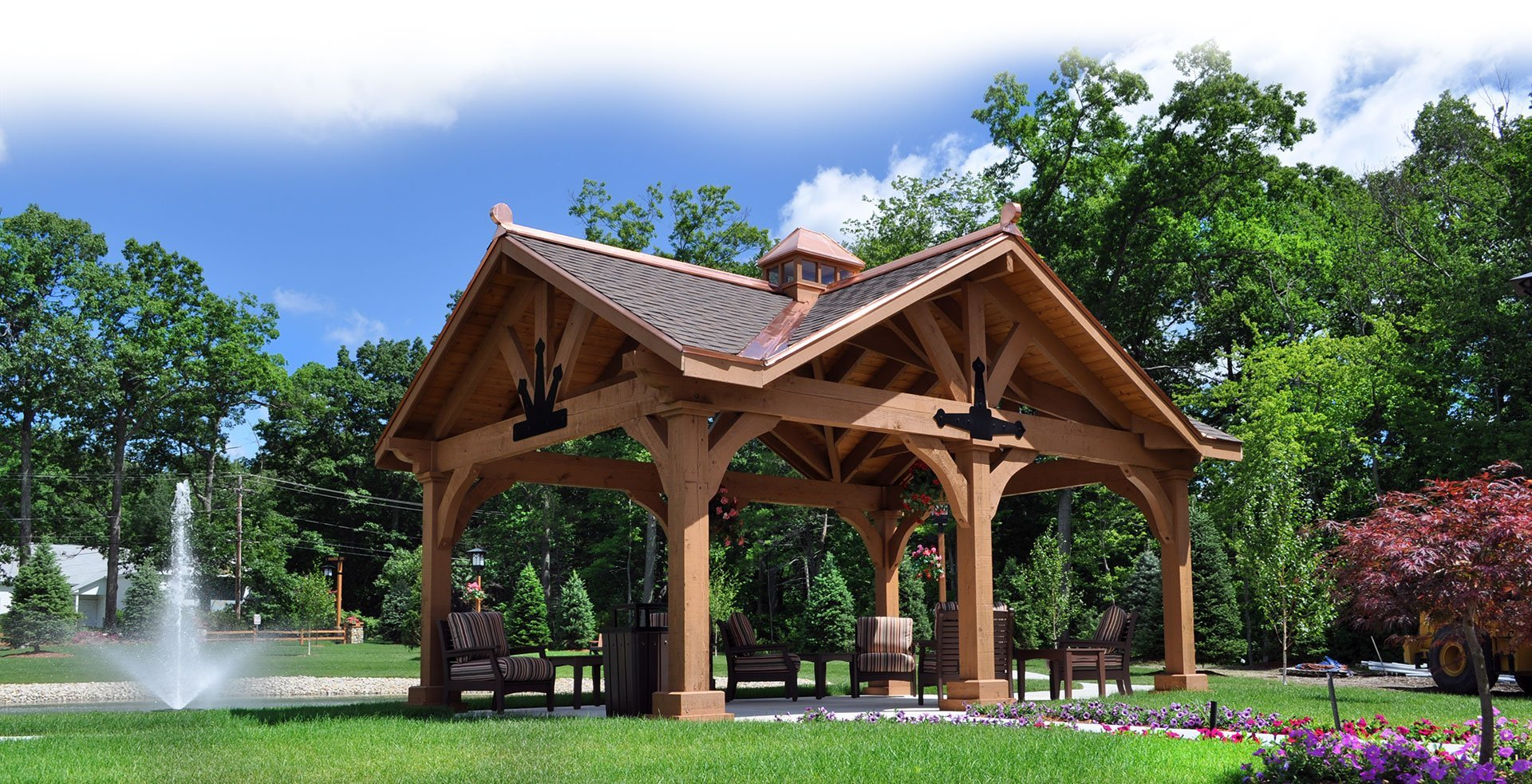 Custom Pergolas, Pavilions, Gazebos & Garages Florida